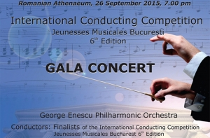 International Conducting Competition Jeunesses Musicales Bucharest 6th edition – gala concert