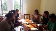 "La proiectul ""Bucharest new minorities"""