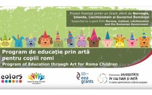 Program de educație prin artă pentru copiii romi – sinteză video