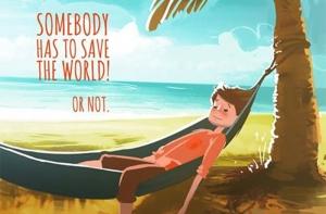 Cineva trebuie sa salveze lumea!...sau nu – scurtmetraj de animație
