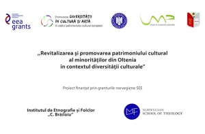 Revitalizarea și promovarea patrimoniului cultural al minorităților din Oltenia în contextul diversității culturale – video seri culturale